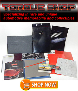 Torque Shop - Specializing in rare and unique automotive collectibles and periodicals